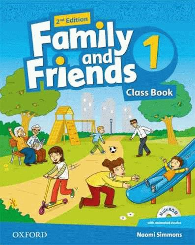 Family and Friends 1 2nd ed Class Book and MultiROM Pack