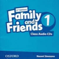Family and Friends 1 2nd ed CD