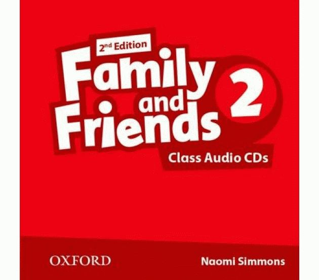 Family and Friends 2 2nd ed CD