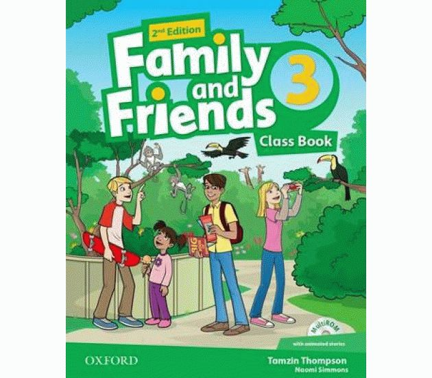 Family and Friends 3 2nd ed Class Book and MultiROM Pack