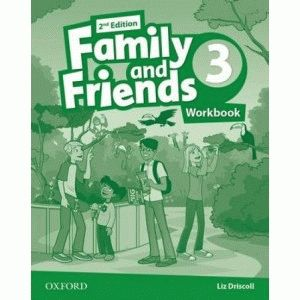 Family and Friends 3 2nd ed Workbook