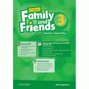 Family and Friends 3 2nd ed Teacher's Book