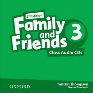 Family and Friends 3 2nd ed CD