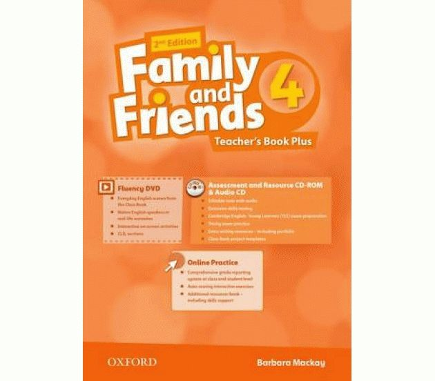Family and Friends 4 2nd ed Teacher's Book