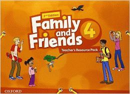Family and Friends 4 2nd ed Teacher's Resource Pack