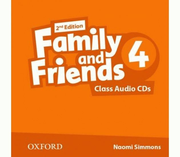 Family and Friends 4 2nd ed CD
