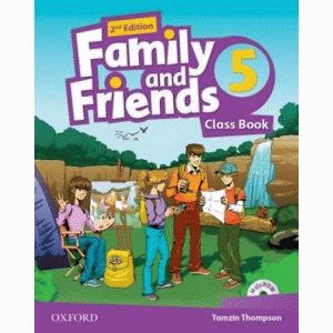 Family and Friends 5 2nd ed Class Book and MultiROM Pack