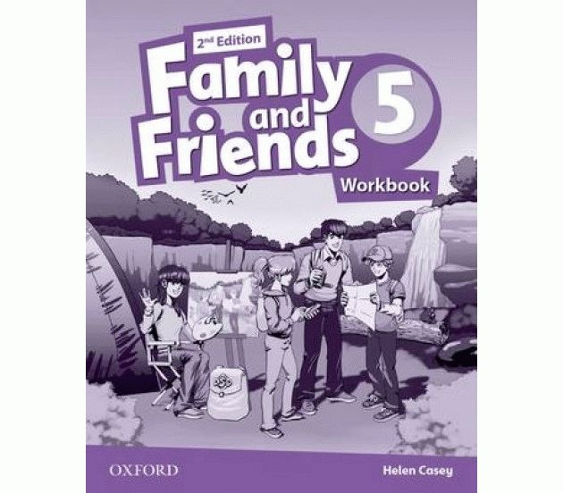 Family and Friends 5 2nd ed Workbook