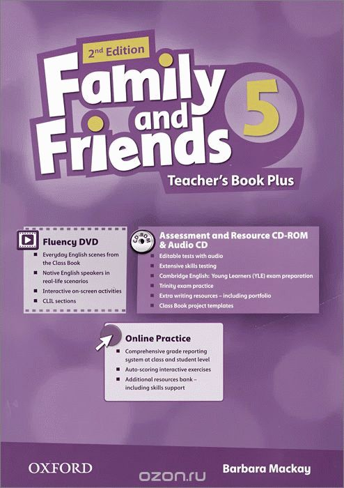 Family and Friends 5 2nd ed Teacher's Book