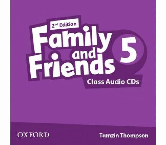 Family and Friends 5 2nd ed CD