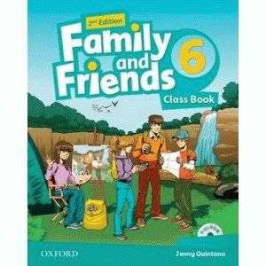 Family and Friends 6 2nd ed Class Book and MultiROM Pack