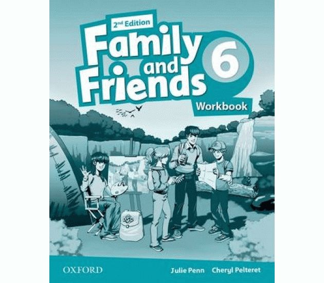 Family and Friends 6 2nd ed Workbook