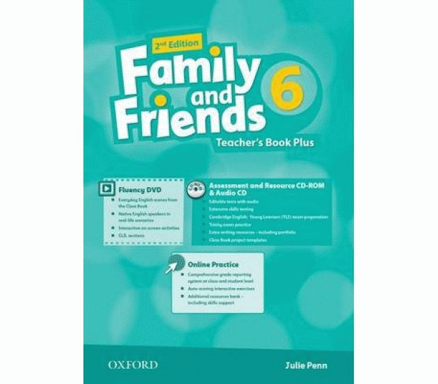 Family and Friends 6 2nd ed Teacher's Book