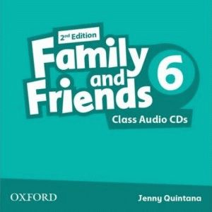 Family and Friends 6 2nd ed CD