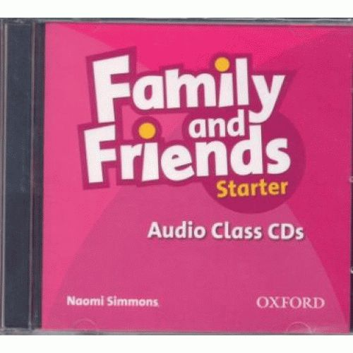 Family and Friends Starter Audio Class CD (2 Discs)
