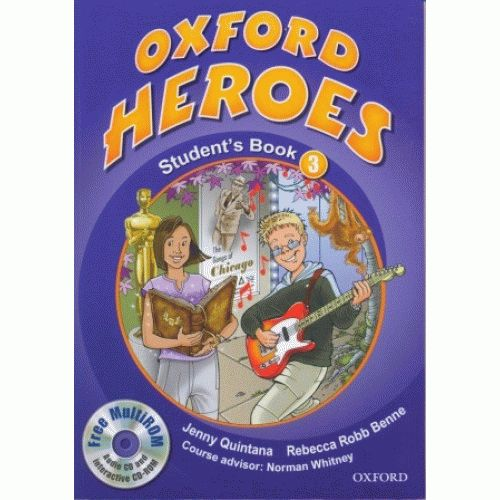 Oxford Heroes 3 Student Book Pack