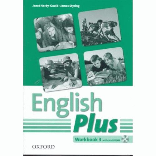 English Plus 3 Workbook with Multi-ROM