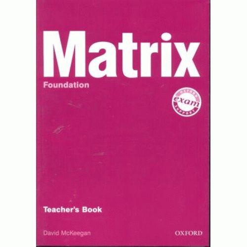 Matrix Foundation Teacher's Book