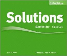 Solutions 2Ed Elementary CD