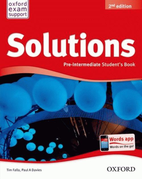 Solutions 2Ed Pre-Intermediate Student's Book