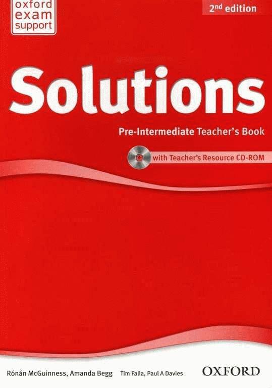 Solutions 2Ed Pre-Intermediate Teacher's Book