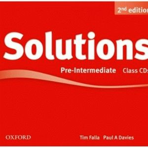 Solutions 2Ed Pre-Intermediate CD