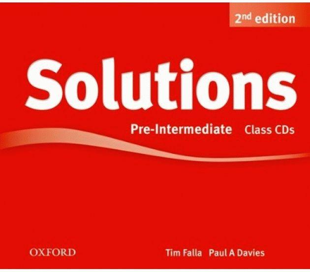 Solutions 2Ed Pre-Intermediate CD