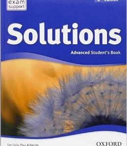 Solutions 2Ed Advanced Student's Book