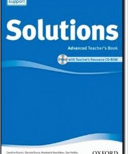 Solutions 2Ed Advanced Teacher's Book