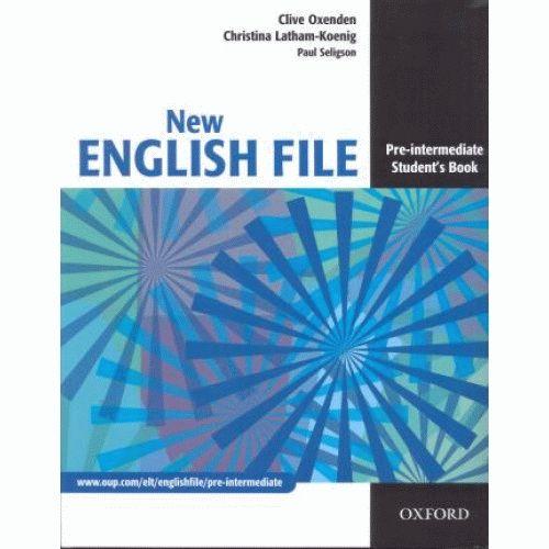 English File New Pre-Intermediate Student's Book