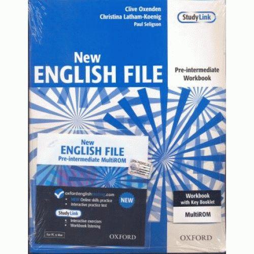 English File New Pre-Intermediate Workbook