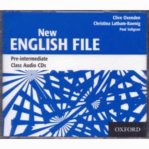English File New Pre-Intermediate Cl.CD