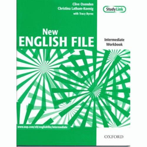 English File New Intermediate Workbook