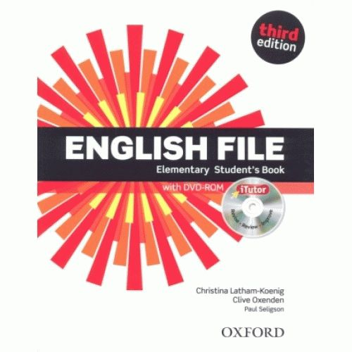 English File Elementary 3rd Ed Student's Book
