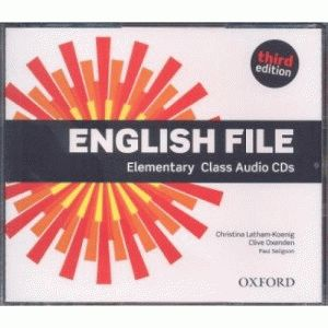 English File Elementary 3rd Ed Cl.CD