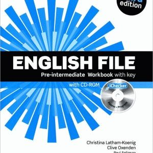 English File Pre-Intermediate 3rd Ed Workbook