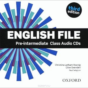 English File Pre-Intermediate 3rd Ed Cl.CD