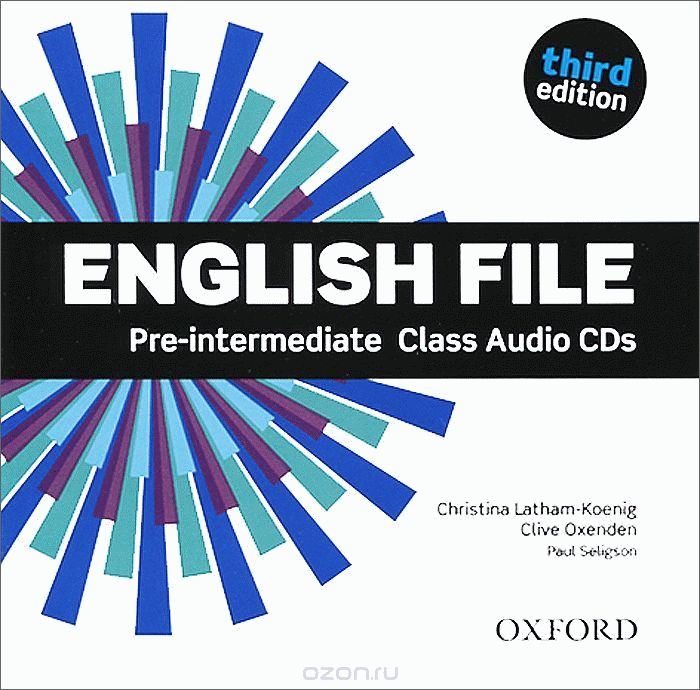 English File Pre-Intermediate 3rd Ed Cl.CD