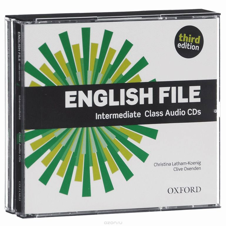 English File Intermediate 3rd Ed Cl.CD