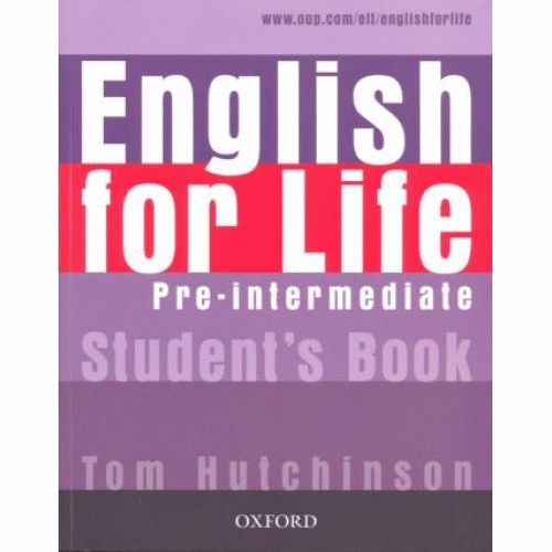 ENGLISH FOR LIFE Pre-intermediate Student's Book with MultiROM Pack