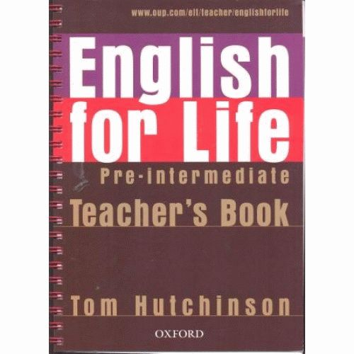 ENGLISH FOR LIFE Pre-intermediate Teacher's Book