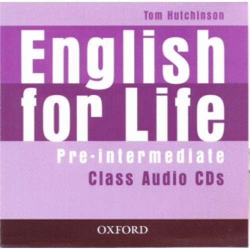 ENGLISH FOR LIFE Pre-intermediate CD