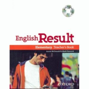 English Result Elementary  Teacher's Book