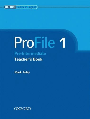 ProFile 1 Teacher's Book