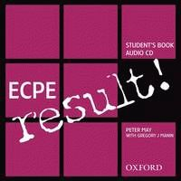 ECPE result! Class CD (1)