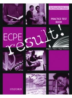 ECPE result! Practice Tests and CD Pack
