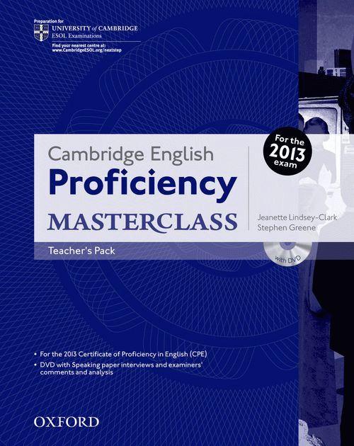 Cambridge English: Proficiency (CPE) Masterclass Teacher's Pack