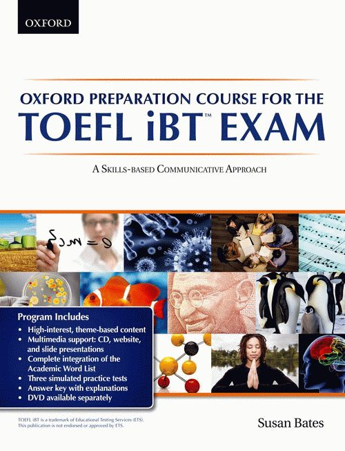 Oxford Preparation Course for the TOEFL iBT™ Exam Student's Book Pack with Audio CDs and website access code
