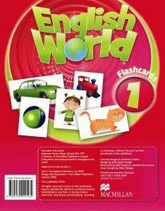 English World  1 Flashc.