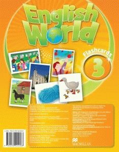 English World  3 Flashc.